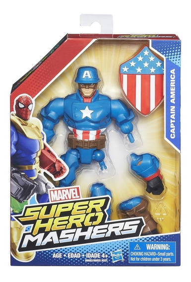 Marvel Super Héroes Mashers Figuras Combinables Hasbro A6825