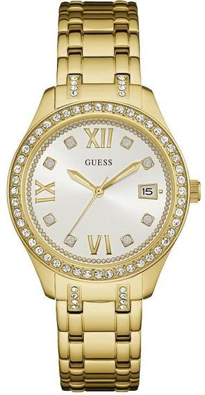 Relógio Guess Feminino Dourado 92623lpgsda1 /w0848l2