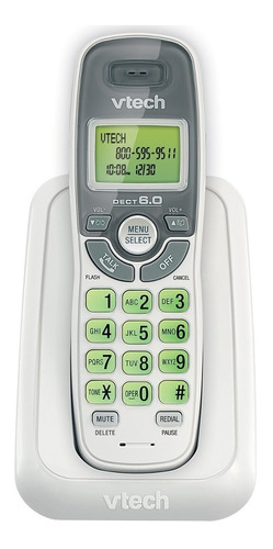 Vtech Teléfono Inalámbrico Cs6114 1 Term. Dect 6.0 Caller Id