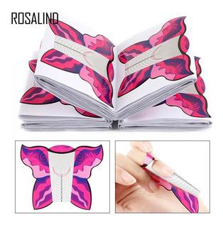 Tips Nail Rosalind 100 Pcs-forma Mariposa