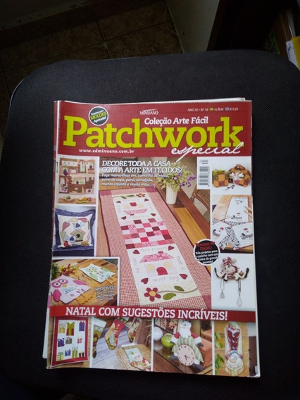 Kit 9 Revistas Patchwork Temas E Ano Diversos