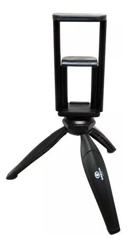 Tripe Para Celular Cameras  Tablet Com Adaptador 2 Em 1