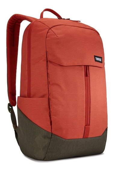 Mochila Para Notebook Lithos 20 L - Rooibos/forest - Thule