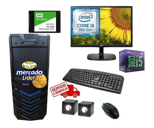 Imagen 1 de 7 de Cpu Intel Core I5 9na 1tb 8gb Led 20computadora,i3,i7 Ssd240