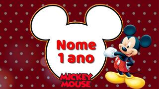 Convite Virtual Animado Mickey
