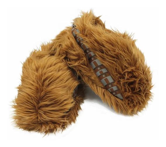 Pantufa Chewbacca Star Wars Pelinho Oficial Tamanhos P. M. G