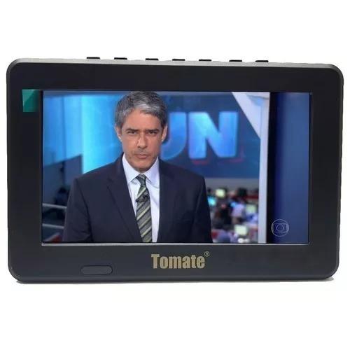 Kit Tv Portatil Hdtv Lcd 9 Polegadas Tela Monitor 909