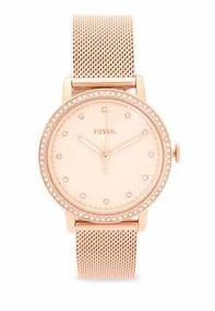 Relógio Fóssil Ladies Rosê Es4365