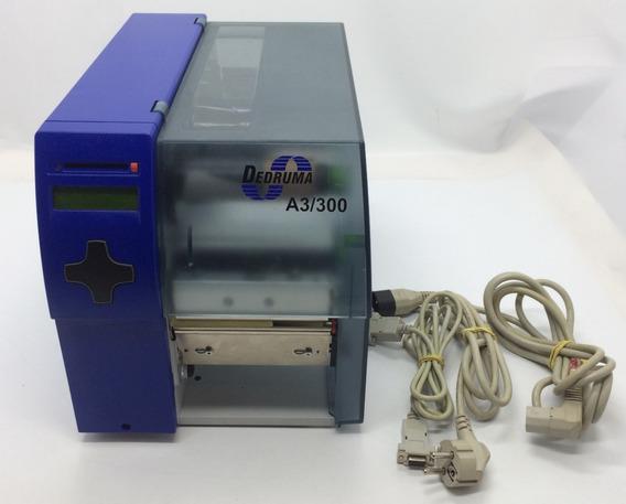 Impressora Térmica Industrial Cabine Dedruma A3/300 Dpi 8mb