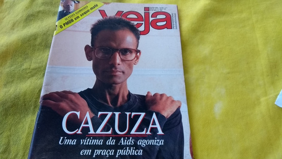Revista Veja Ano 22 N 17 Abril 1989 Cazuza Ulisses Guimarães