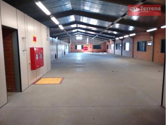 Galpão Comercial (parte Superior) Com 600m², Próximo A Rigesa E Rua Bahia, No Bairro Passo Manso - Ga0076