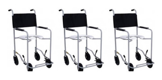 Cadeira De Banho 85kg (kit C/03)