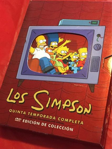 Dvds 5a Temporada De Los Simpson