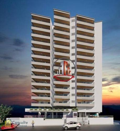 Lindo Lançamento Com 2 Dormitórios - Vila Guilhermina - Praia Grande/sp - Ap2099