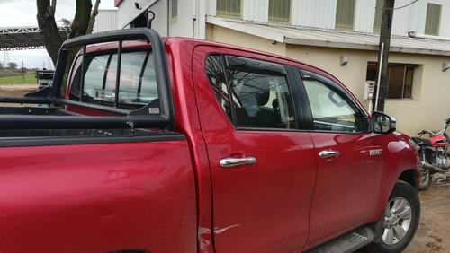 Goteros Deflectores De Lluvia Toyota Hilux