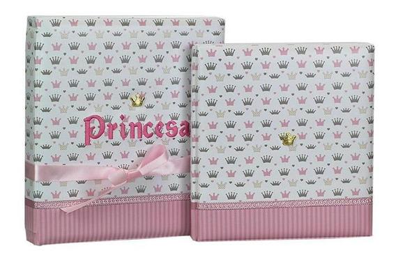 Álbum De Fotos 15x21 Diário Do Bebê Princesa - 164477