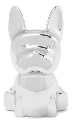 Porta-aneis Em Metal Umbra Cachorro 5x3.8x6.3cm Cromado