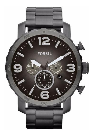 Fossil Jr1437 Nate Reloj Para Hombre De Acero Inoxidable
