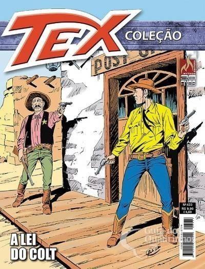 Revista Hq Gibi - Tex Coleção 433