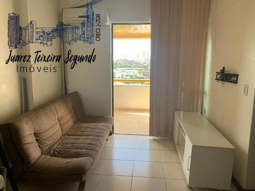 Flat No Caminho Das Árvores Com Sala E Varanda, Átras Do Iguatemi, Oportunidade! - 09029 - 68853033