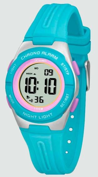 Relógio Feminino X-games Xkppd046 Digital Quartz Sport