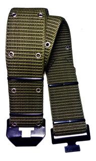 Cinto Cinturon Tactico 55mm C/ojalillos/heb.metal Art 11