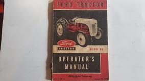 Manual Do Proprietário Trator Ford 8n 1949