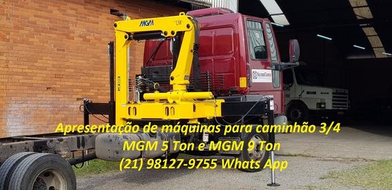 Guindaste Munck Para Caminhão 3/4 Até 9 Ton