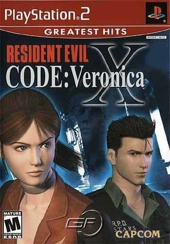 Resident Evil: Code Veronica X - Ps2 Patch +encarte