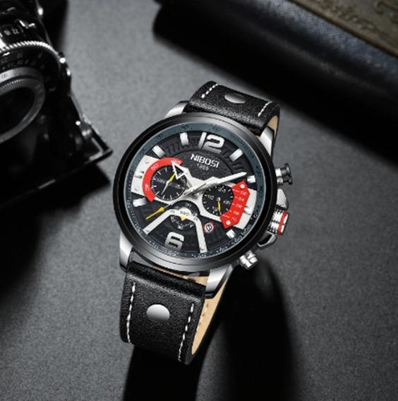 Relógio Masculino Nibosi Original Promoção.