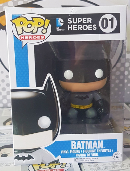 Batman - Dc Comics - Funko Pop Boneco