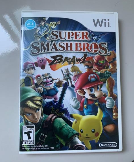 Super Smash Bros Brawl - Nintendo Wii - Mídia Física