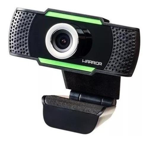 Webcam Hd Gamer Warrior Microfone Integrado 1080p Usb- Ac340