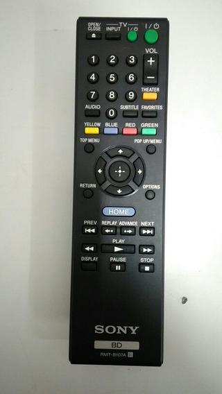 Controle Remoto Rmt-b107a Sony Blu Ray 100% Original Novo