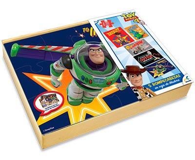 Rompecabezas En Caja De Madera 5 En 1 Toy Story 4 Jca-2256