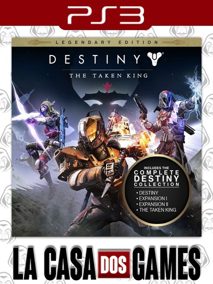 Destiny: The Taken King Psn Ps3 - Pt-br