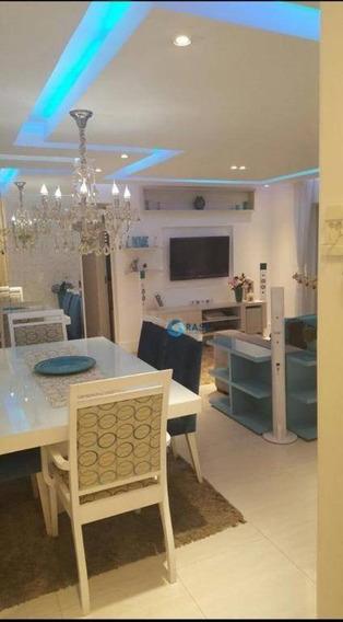 Apartamento Com 2 Dormitórios À Venda, 77 M² Por R$ 495.000 - Vila Suzana - São Paulo/sp - Ap6950