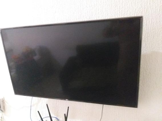 Smart Tv 4k Lg 49 Uj6300 Com Defeito De Tela