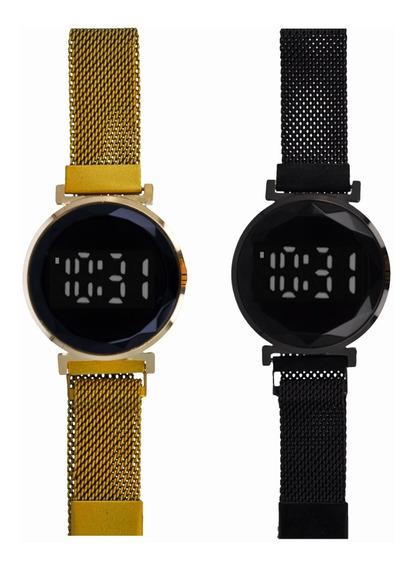 Reloj De Pulsera Touch Mayoreo Minimalista De Moda