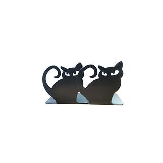 Lindo Tema Animal Cat Sujetalibros Libro Decorativo Extremo