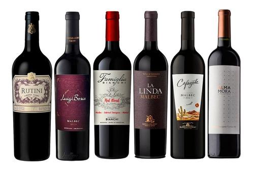 Vino (combo Alta Gama Caja 6  Botellas X 750). Quirino