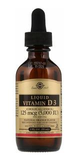 Solgar Vitamina D3 5000ui 1/ml Dose, Usa!