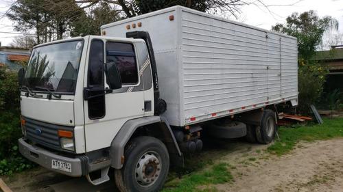 Ford Cargo 1415 Año 1997 Furgon Capacidad De Carga 10.000kg