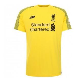 Camisa Liverpool Goleiro 18/19 Amarela - Queima De Estoque