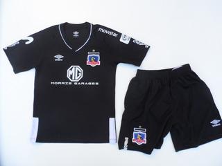 Conjunto Colo Colo Camiseta+short 2019-2020 Niño