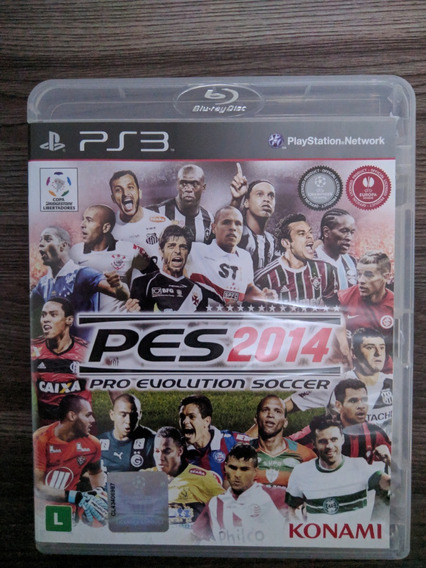 Pro Evolution Soccer Pes 2014 - Ps3