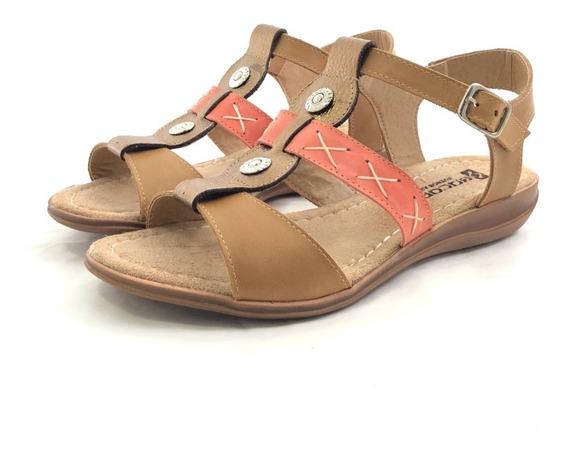 Encore 2032 Sandalia Cuero El Mercado De Zapatos!!