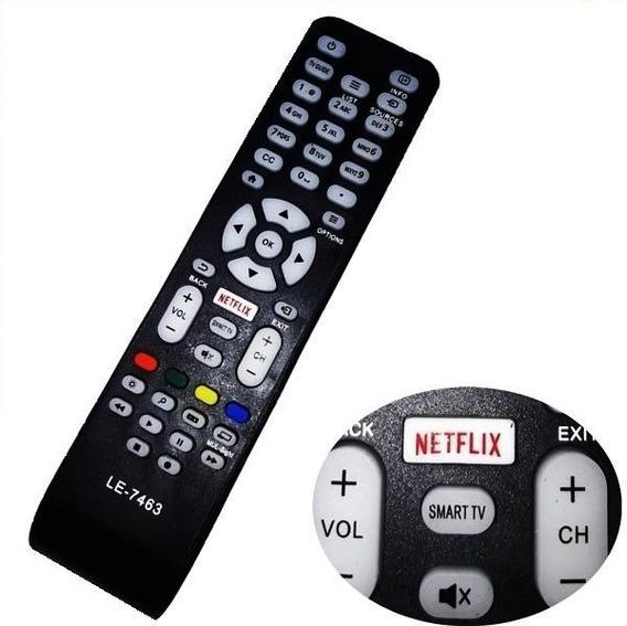 Controle Remoto Tv Aoc 32 Led Netflix Smart Le32s5760 Novo
