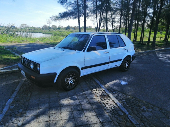 Volkswagen Golf Cl 1988 5 Puertas Blanco