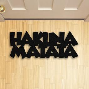Tapete Capacho Criativo Geek Hakuna Matata